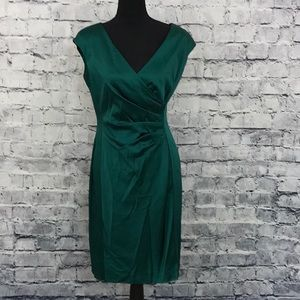 Ralph Lauren Satin-Material Dress (661)